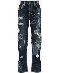 True Religion Geno Super T Slim Jeans - Blue