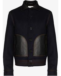Wales Bonner Brixton Varsity Jacket - Blue