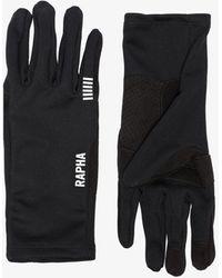 Rapha Black Pro Team Cycling Gloves