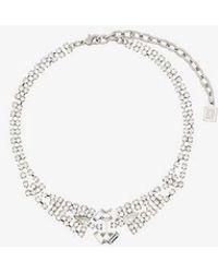 DANNIJO - Mimosa Embellished Choker Necklace - Lyst