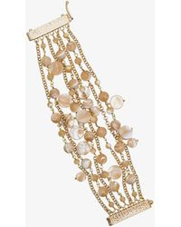 Rosantica - Neutral Grillo Multi Strand Bracelet - Lyst