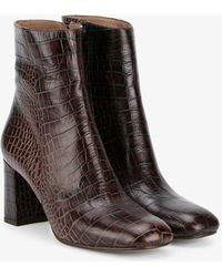 Maryam Nassir Zadeh - Alligator-embossed Agnes Boots - Lyst