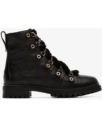 Jimmy Choo - Hillary Hiking Boots - Lyst