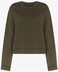 RTA Crew Neck Cotton Sweatshirt - Green