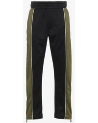 Off-White c/o Virgil Abloh - X Browns Green And Black Track Pants - Lyst
