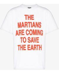 Liam Hodges Slogan Print T-shirt - White