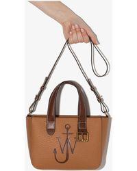 JW Anderson Mini Belt Tote Bag - Brown