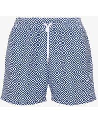 Frescobol Carioca - Angra Print Swim Shorts - Lyst