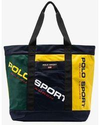 Polo Ralph Lauren Multicoloured Logo Print Tote Bag