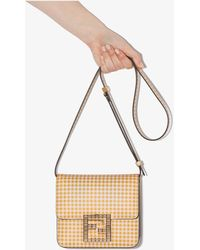 Fendi - Fab Leather Shoulder Bag - Lyst