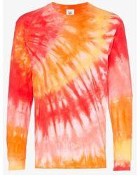Stain Shade Tie-dye Sweatshirt - Multicolour