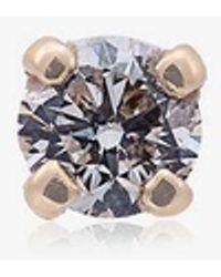 Yvonne Léon - Yellow Gold Diamond Stud Single Earring - Lyst