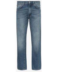 Totême Totême Original Denim Washed Blue Jeans
