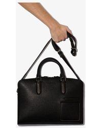 Ermenegildo Zegna Leather Briefcase - Black