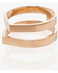 Repossi 18k Berbere Double Ring - Metallic