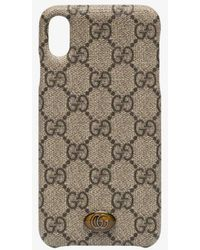 Gucci Brown Ophidia Iphone Xs Case