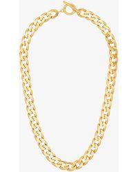 All_blues Vermeil Moto Chain Necklace - Metallic