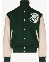 BBCICECREAM Astro Varsity Bomber Jacket - Green