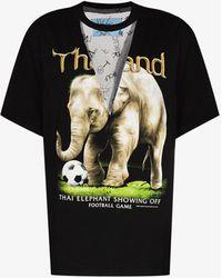 Viktor & Rolf - Vintage Elephant Print T-shirt - Lyst