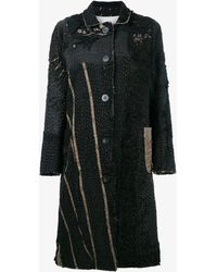 By Walid - Victorian Mid-length Patchwork Coat - Lyst