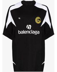 Balenciaga Logo T-shirt - Black
