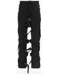 99% Is - Bondage Strap Trousers - Lyst