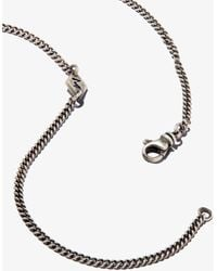 M. Cohen 18k Yellow Gold And Sterling Rect Pira Diamond Necklace - Metallic