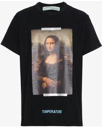 Off-White c/o Virgil Abloh | Mona Lisa T-shirt | Lyst