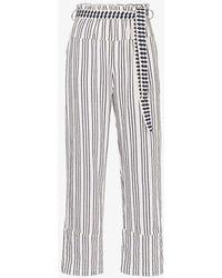 lemlem Tigist Trousers - White