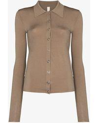 Dion Lee Hosiery Shirt Cardigan - Multicolour