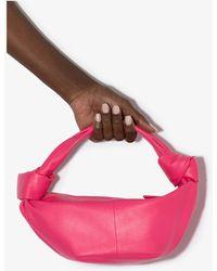 Bottega Veneta 'mini Bag' Leather Hand Bag - Pink