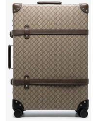 Gucci Brown Globe Trotter Supreme Canvas Suitcase