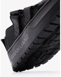 Sankuanz Double Strap Sandals - Black