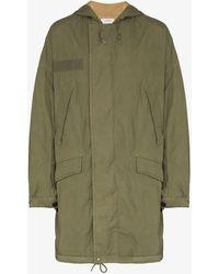 Visvim Patterson Hooded Parka Coat - Green