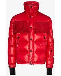 Moncler Genius Grenoble Arlaz Nylon Down Jacket - Red