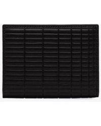 Comme des Garçons - Black Brick Leather Wallet - Lyst