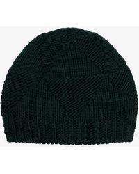 Bottega Veneta Wool Beanie Hat - - Wool - Green