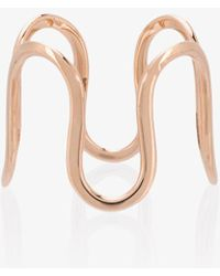 Sabine G - Rose Gold Wiggly Ring - Lyst
