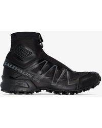 Salomon S/LAB Snowcross Adv High Top Trainers - Black