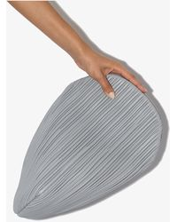 Neous Pluto Leather Clutch Bag - Gray