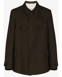 Maison Margiela Twill Military Jacket - Green