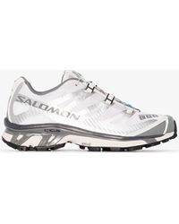 Salomon S/LAB Silver And Xt-4 Advanced Mesh Trainers - Grey
