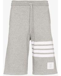 Thom Browne Engineered 4-bar Jersey Sweatshort - Grey