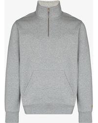 Carhartt WIP Chase Zip-up Sweatshirt - Grey