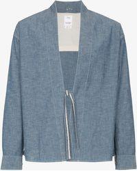 Visvim - Lhamo Cotton Chambray Shirt - Lyst
