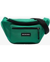 Balenciaga Green Explorer Belt Bag
