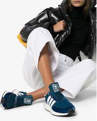 adidas Blue I-5923 Velvet Trainers