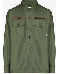 WTAPS Buds Logo Patch Shirt - Green
