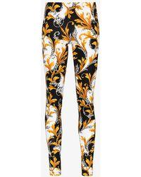 Versace Acanthus Leggings - Multicolour