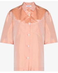 Nackiyé Gazebo Shantung Silk Shirt - Pink
